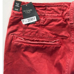 Abercrombie & Fitch Pants - NWT Abercrombie 31 x 32 Slim Straight Salmon Pink